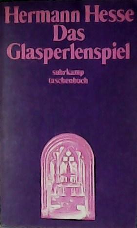 Das Glasperlenspiel.: HESSE, Hermann.-