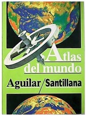 Atlas del mundo aguilar-Santillana. Traducción de Ramón: BERGQUIST, Lard.-