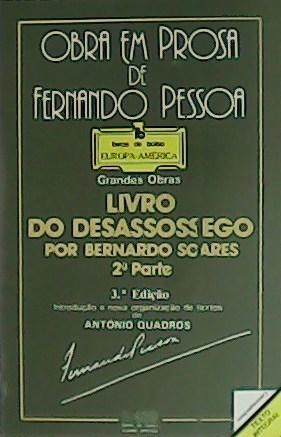 Soares Bernardo Livro Desassossego Abebooks