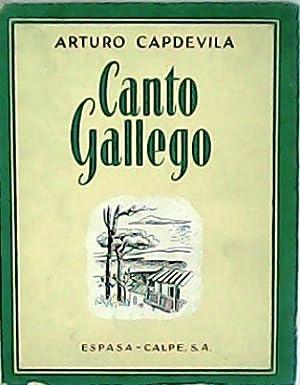 Canto gallego. Poesía.: CAPDEVILA, Arturo.-