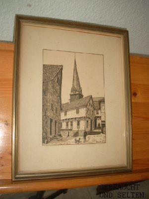 Mausefalle (Aufgang zur Petrikirche) von O. Jeneck.: Jeneck, O.: