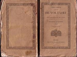 OEUVRES COMPLETES DE VOLTAIRE [Tome 49] [Bd.49] MELANGES LITTERAIRES - TOME II avec des remarques ...