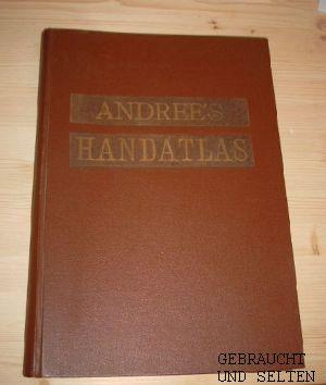 Allgemeiner Handatlas in 86 Karten mit erläuterndem Text.: Andree, Richard: