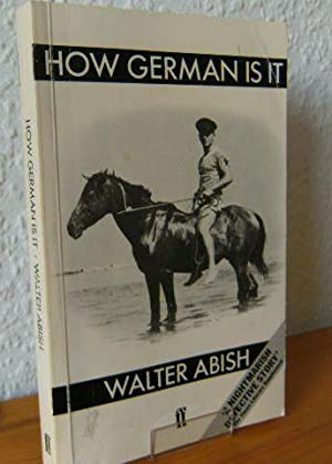 How German is it : a novel (Wie deutsch ist es). by