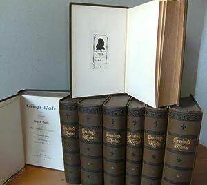 """Lessing's Werke. Herausgegeben von Richard Gosche. """"Erste illustrirte [illustrierte] ..."""