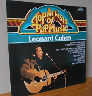 Top Artists of Pop Music LEONARD COHEN