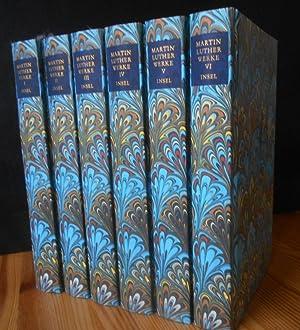 AUSGEWÄHLTE SCHRIFTEN in 6 Bänden. Jubiläumsausgabe. Herausgegeben: Luther, Martin, Karin