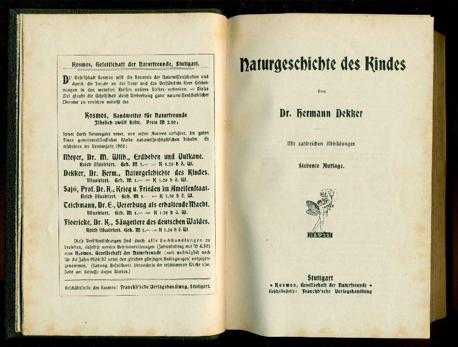 Naturgeschichte des kindes - Bilder aus dem Leben des Waldes - Krieg und Frieden im Ameisenstaat - D
