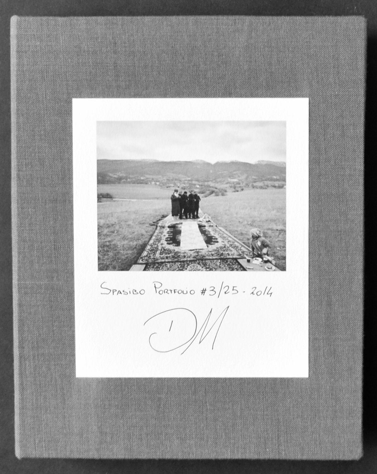 Spasibo. Contac Prints MONTELEONE, Davide (Potenza, 1974) Hardcover The portfolio of ''Spasibo Contac Prints'' is composed of 15 contact silver gelatin prints made from the original film (paper 12x16 cm - print 9x11 cm