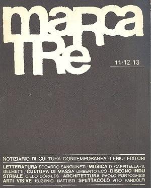 Marcatre n. 11/12/13: MARCATRE Notiziario di