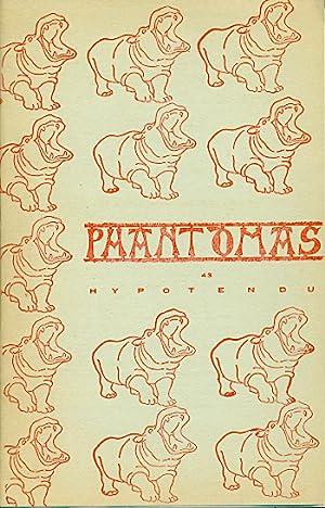Phantomas 43. Hypotendu. Décembre 1963: PHANTOMAS. Revue. Directeurs: