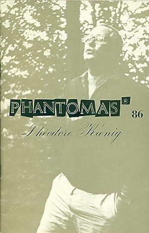 Phantomas 86. Théodore Koenig. Juin 1969: PHANTOMAS. Revue. Directeurs:
