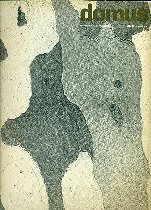 Domus. N. 395, Ottobre 1962. Direzione: Giò: DOMUS Architettura Arredamento
