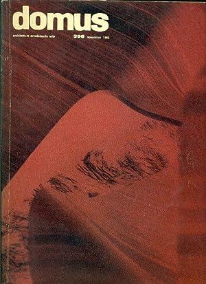 Domus. N. 396, Novembre 1962. Direzione: Giò: DOMUS Architettura Arredamento