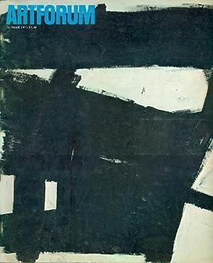 Artforum. Volume XIII, No. 10, Summer 1975: ARTFORUM. Editor: John
