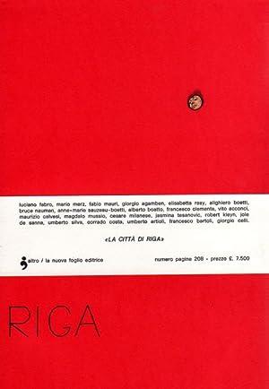La Città di Riga. Tutto il pubblicato.: LA CITTA' DI