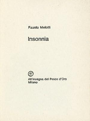 Il triste minotauro: MELOTTI, Fausto (Rovereto,