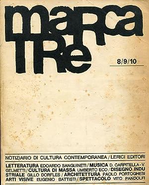 Marcatre n. 8/9/10, Luglio/Agosto/Settembre 1964: MARCATRE Notiziario di