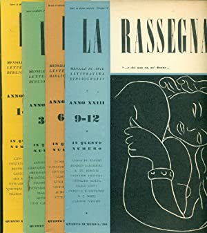 La Rassegna. 1954, Anno XXIII. Annata completa: LA RASSEGNA. MENSILE