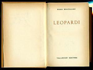 Leopardi: BIGONGIARI, Piero (Navacchio,