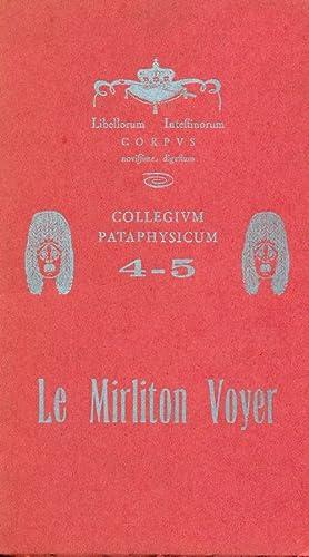 Numero 4-5. Le Mirliton Voyer: COLLEGIUM PATAPHYSICUM