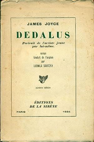 Dedalus. Portrait de l'artiste jeune par lui-méme: JOYCE, James (Dublin