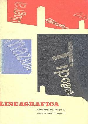 Linea Grafica. Novembre/Dicembre, Anno XIV, N.11/12: LINEA GRAFICA RIVISTA