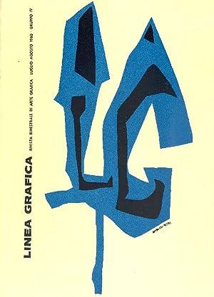 Linea Grafica. Luglio/Agosto, Anno XV, N. 7/8: LINEA GRAFICA RIVISTA