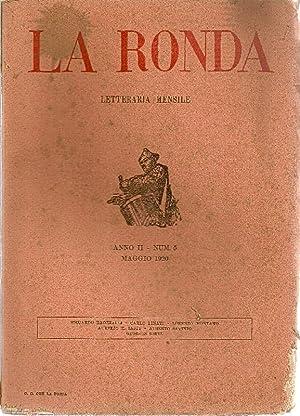La Ronda Letteraria mensile. Anno II, N.: LA RONDA LETTERARIA