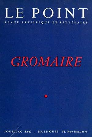 Le Point. December 1954. Marcel Gromaire.: LE POINT. REVUE