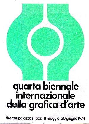 Quarta Biennale Internazionale della Grafica d'Arte/2. La: QUARTA BIENNALE INTERNAZIONALE
