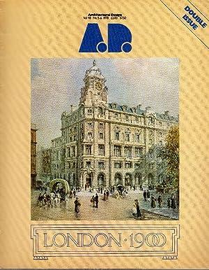 AD Architectural Design. Volume 48 No 5-6: AD ARCHITECTURAL DESIGN
