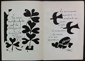 Hommage à Georges Braque: BRAQUE, Georges (Argenteuil,