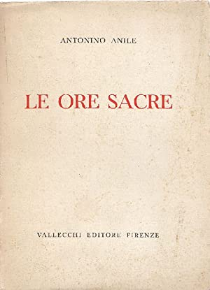 Le ore sacre: ANILE, Antonino (Pizzo