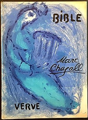 Bible. Verve, Vol. VIII, N. 33 et: CHAGALL, Marc (Vitebsk,
