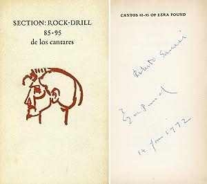 Section: Rock-Drill 85 - 95 de los: POUND, Ezra (Hailey,