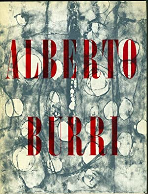 Alberto Burri: BURRI, Alberto (Città