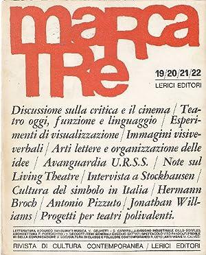 Marcatre n. 19-20-21-22 aprile 1966: MARCATRE Notiziario di