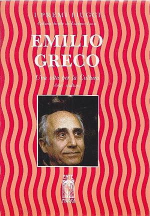 Una vita per la Cultura. Arte: scultura: GRECO, Emilio (Catania,