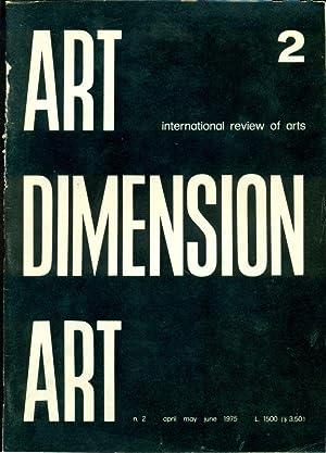 Art Dimension. International review of arts. N.2: ART DIMENSION ART.
