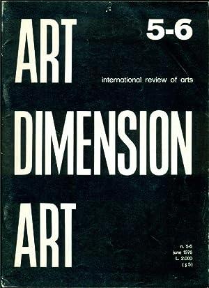 Art Dimension. International review of arts. N.5-6: ART DIMENSION ART.