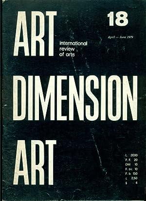 Art Dimension. International review of arts. N.: ART DIMENSION ART.