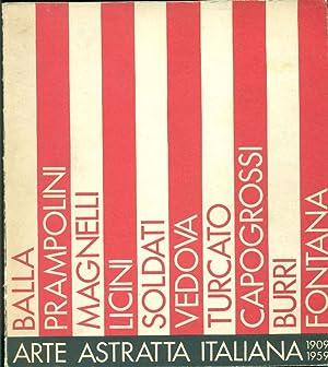 Arte astratta italiana 1909-1959: DE FEO, Giovanna;