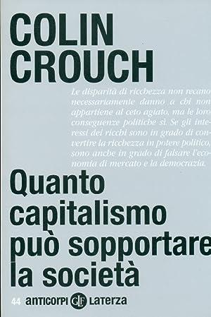 Quanto capitalismo può sopportare la società: CROUCH Colin