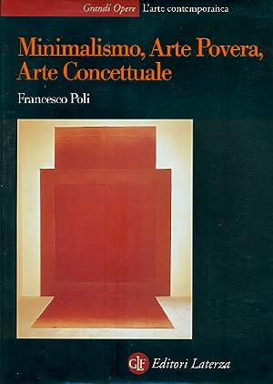Minimalismo arte povera arte concettuale abebooks for Minimalismo libro