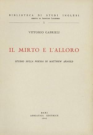 Il mirto e l'alloro: ARNOLD - Gabrieli