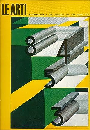 Le Arti. Marzo 1972: LE ARTI. Direttore
