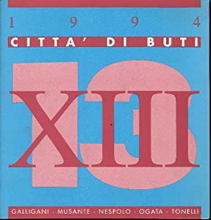 XIII Rassegna d'arte ''Città di Buti''. Incontri: MICIELI Nicola (a