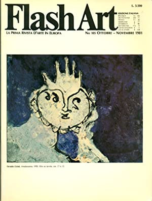 Flash Art. Ottobre/Novembre 1981, N. 105: FLASH ART La