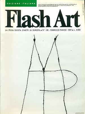 Flash Art. Febbraio/Marzo 1989, N. 148: FLASH ART La
